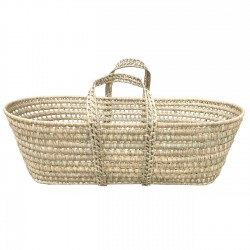 Wicker Carrycot Palma 80 long, 38 wide, 25 high