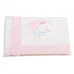 Standard size 50 x 80 (adjustable bottom sheet + + counter pillow case) - Sheets minicot 3 parts