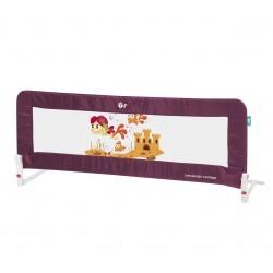 Barrera para cama nido 150 cm Vino y Gris de Innovaciones MS