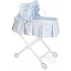 Carrycot with top 80 Lucia Chococeleste