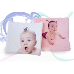 Cojin photo baby with soft tissue