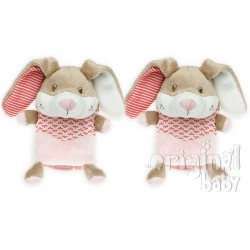 Safety Belt protects pink bunny