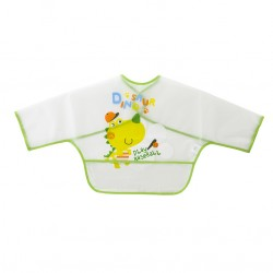 Bib with sleeves and Play Baseball Bag Green