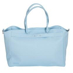 Leatherette Leatherette maternal baby blue