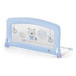 Drop barrier 90 cm bed Baby Blue