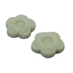 Konjac Sponge Natural Flower Green