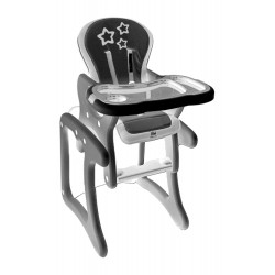 Chef desk chair Gray DARK STAR