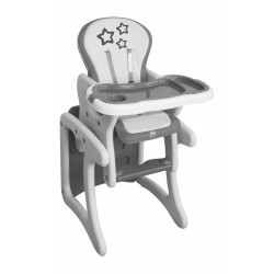Chef desk chair STAR Gray Smooth