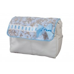 Walking bag Toile Blue