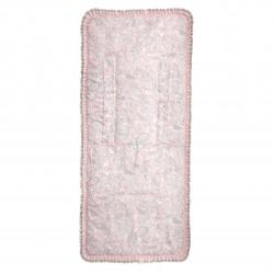 Candy reversible mat light pink