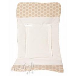 Mole Jacquard chair cushion Light Beige
