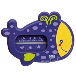 Purple bath thermometer snorkel