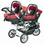 Twin baby strollers