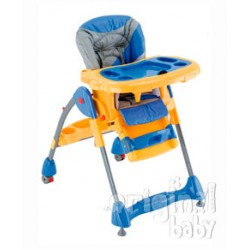 Super highchair tray Yellow and Blue