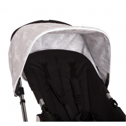 Angelo Gray Bugaboo car hood