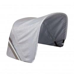 Bombon gray bugaboo car hood