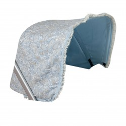 Bugaboo car hood blue candy