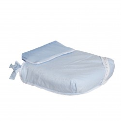Carrycot Bombón Blue Bedspread