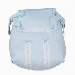 Celestial Classic carrycot coverlet