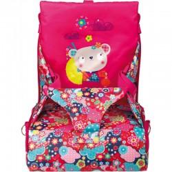 Trona portable Kimono-Tuc Tuc rose